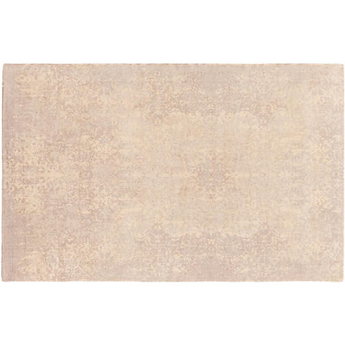 Byward Rug, Cream/Pale Blue