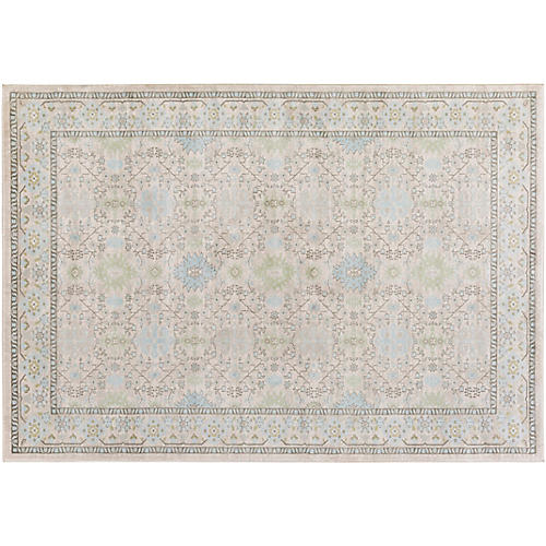 Acamar Rug, White/Neutral