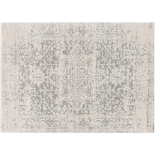 Corvi Rug, Neutral/Gray