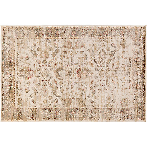 Merga Rug, Neutral/Gray