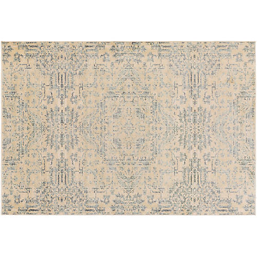 Wasat Rug, Brown/Blue