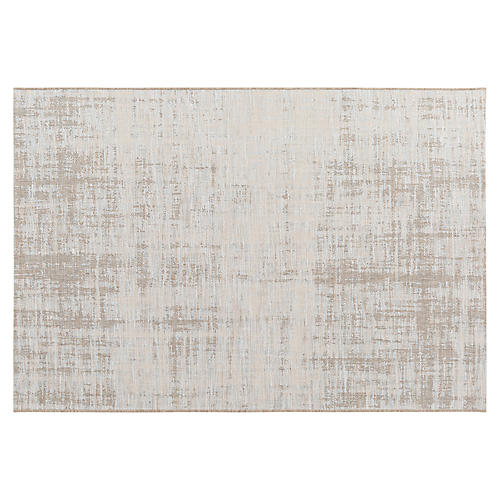 Valter Outdoor Rug, Beige/Multi
