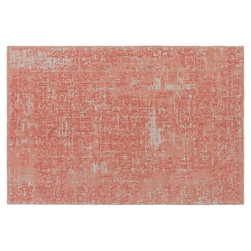 Greip Rug, Peach/Multi