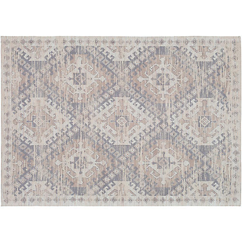 Brock Handwoven Rug, Gray/Taupe