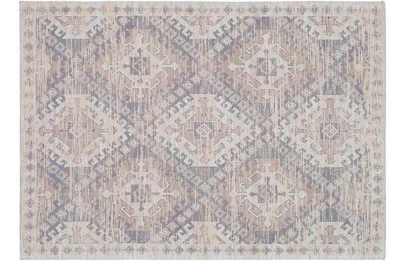 Brock Handwoven Rug, Gray/Taupe