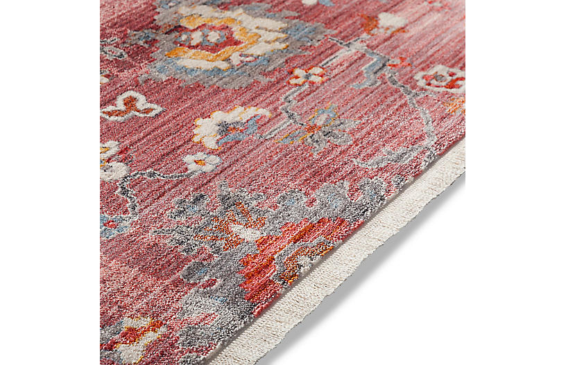 Vinovia Rug Pale Pink Multi Traditional Rugs By Style