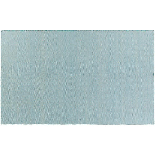 Adderley Outdoor Rug, Sky Blue