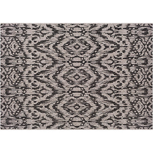 Cabra Outdoor Rug, Black