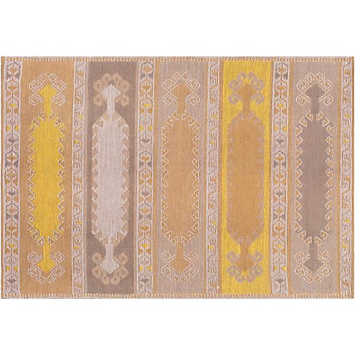 Jess Outdoor Rug, Bright Yellow