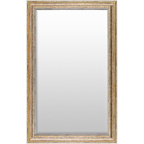 Roseville Oversize Wall Mirror, Gold