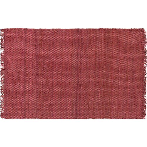 Phantom Jute Rug, Plum