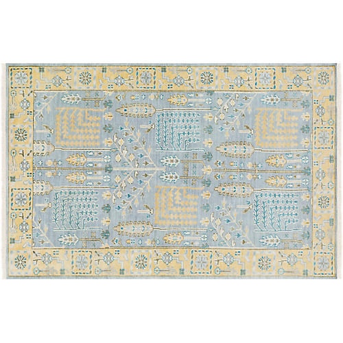Tomaso Rug, Light Blue