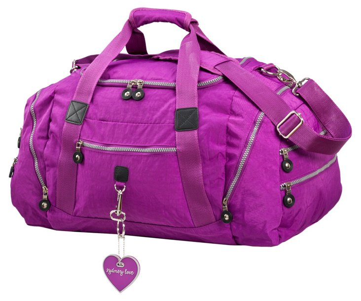 Mini Duffel, Purple