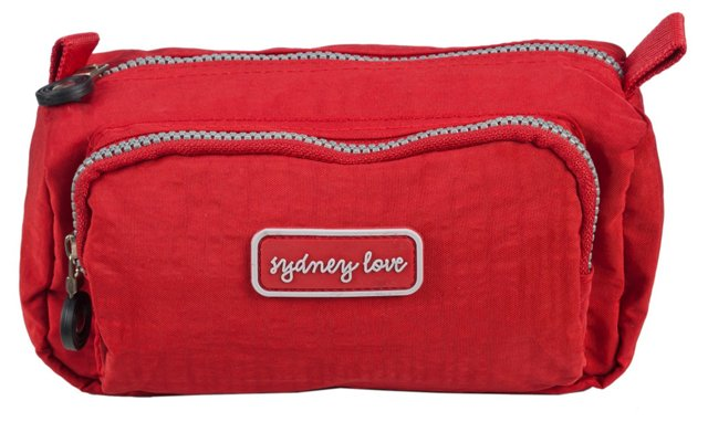 Sport Cosmetic Pouch, Red