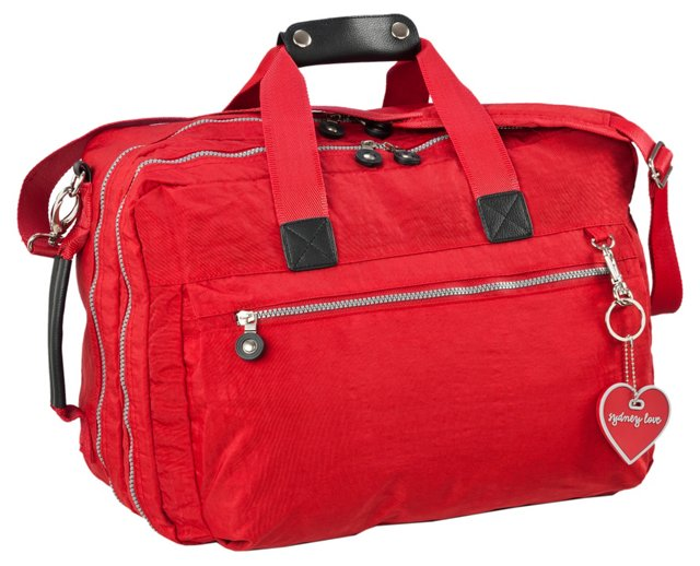 Convertible Carry-On, Red