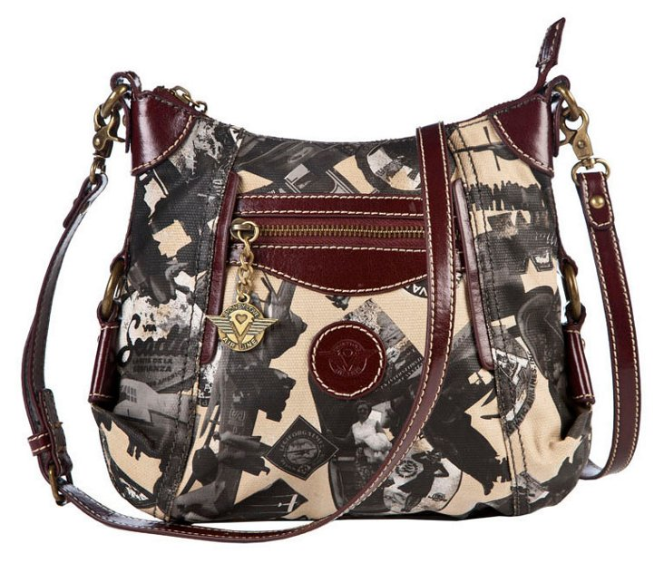 Cross-Body with Pocket, Sand