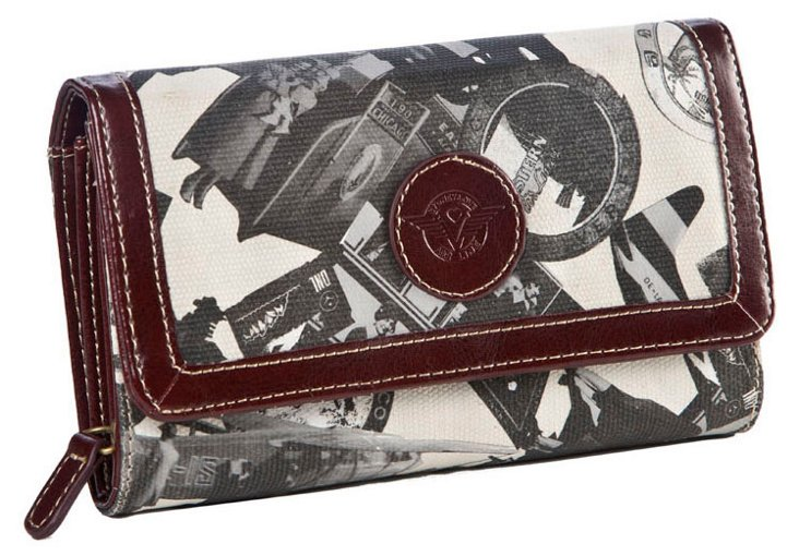 Flap Over Wallet, Stone