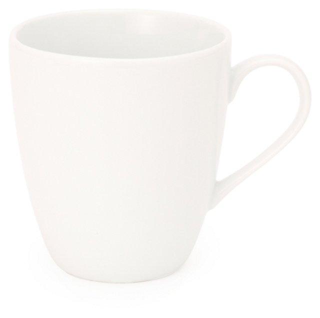 S/6 Coffee Mugs, White