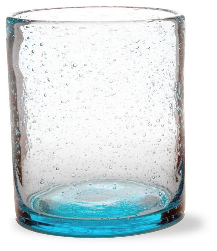 S/4 Bubble-Glass DOF Glasses, Aqua