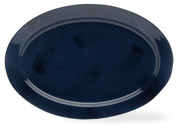 Sonoma Oval Platter,  Navy