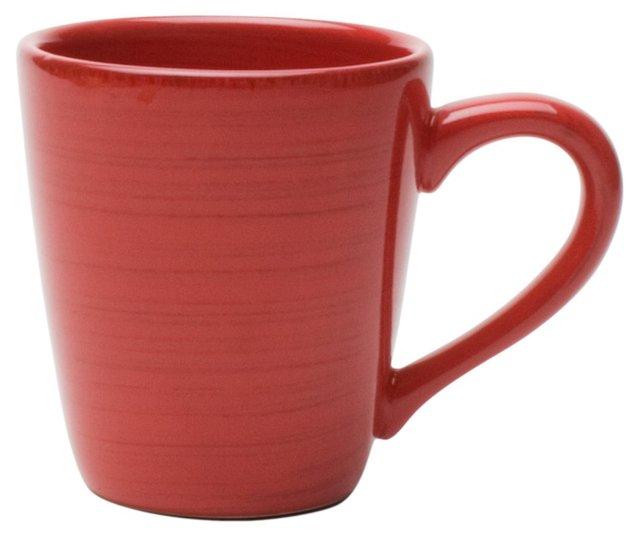S/4 Sonoma Mugs, Red