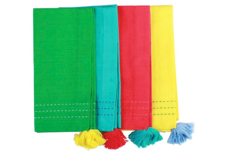 Assortment of 4 Party Napkins
