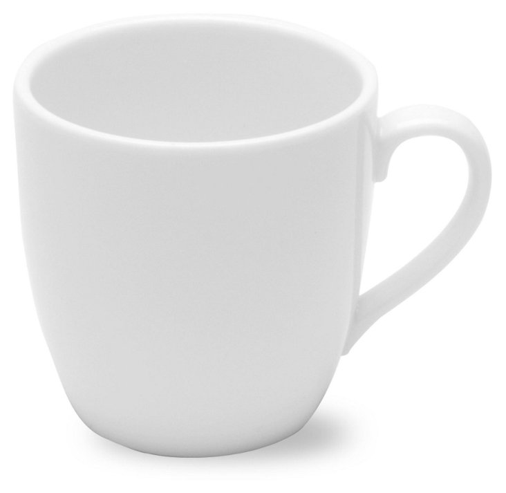 S/6 Porcelain Cappuccino Mugs