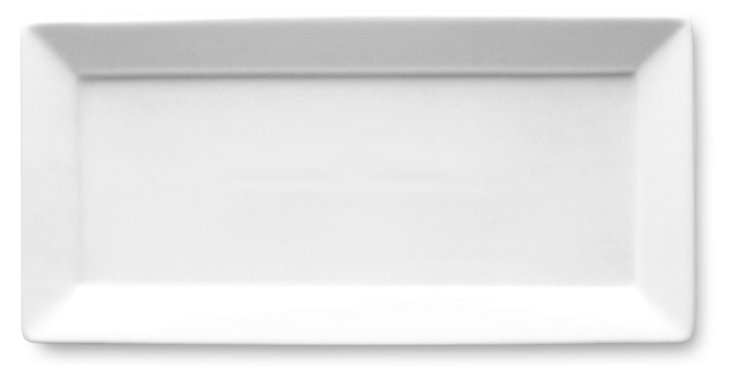 Small Rectangular Porcelain Platter
