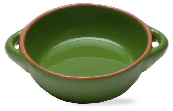 Small Round Baker, Green