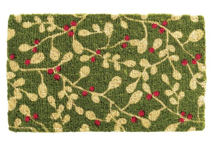 Mistletoe Doormat