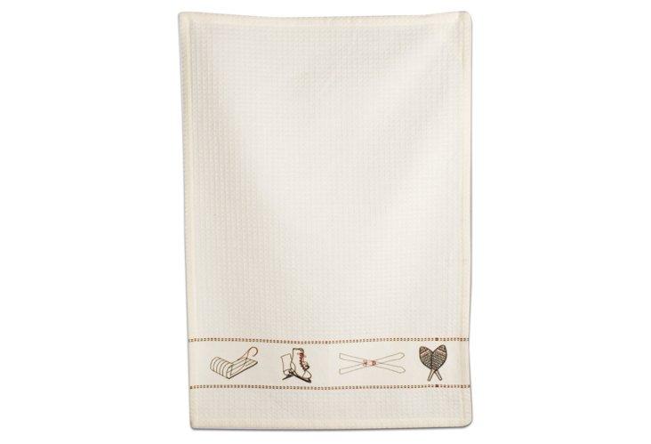 S/2 Winter Activity Dish Towels