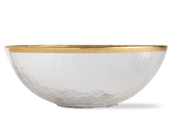 Imperial Rim Bowl, Medium Gold