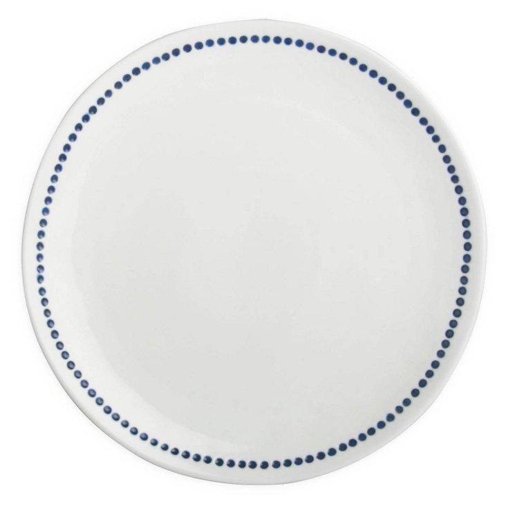 S/4 Dana Blue Salad Plates