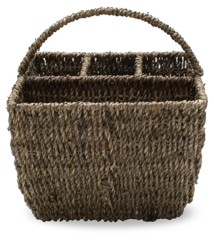 4-Section Sea-Grass Caddy