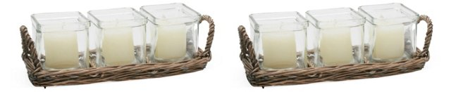 S/2 Willow Tealight Holders