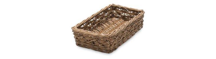 Rio Rectangular Willow Basket