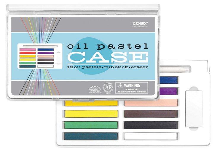 Oil Pastel Art Case