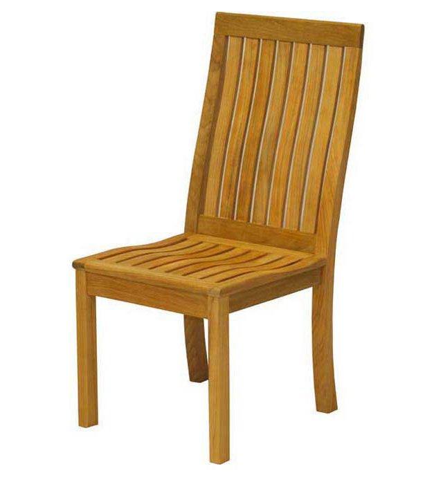 Teak Dining Side Chair