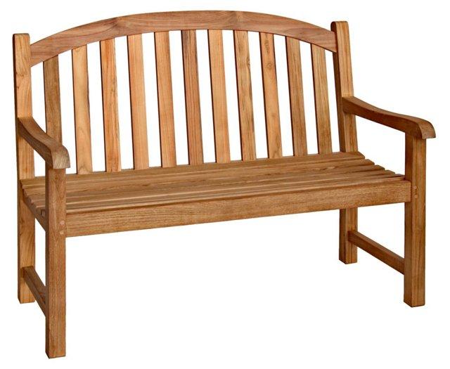 Teak 4' Garden Bench