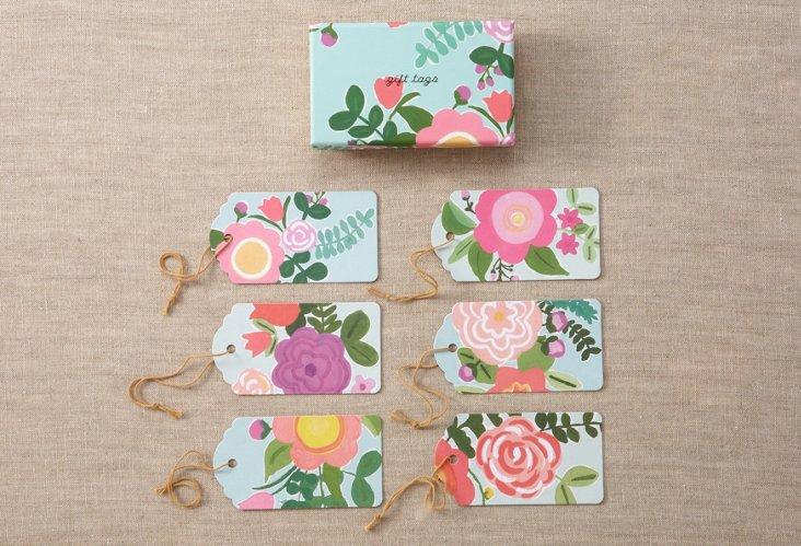 S/18 Rose Garden Swing Tags