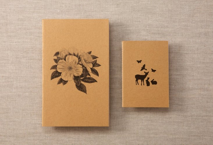 Floral & Isobel Notebook Set