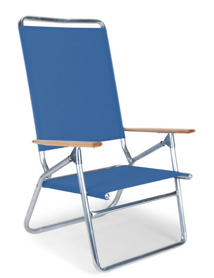 Chatham Beach Chair, Cobalt
