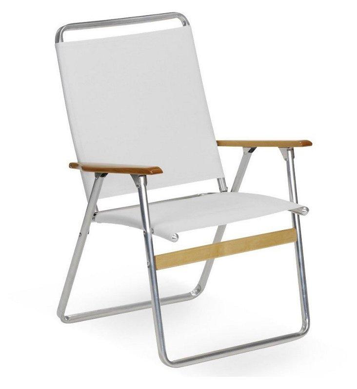 Telaweave Folding Armchair, White