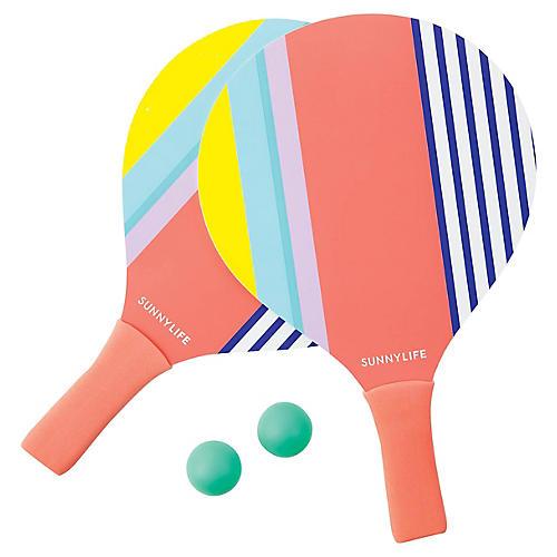 Beach Havana Paddles, Pink/Multi