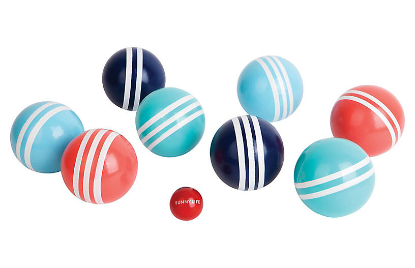 Bocce Havana Game Set, Pink/Blue/White - Gifts under $100
