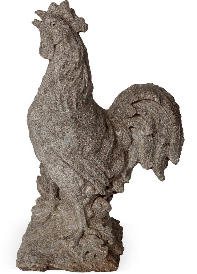 Stone Garden Rooster