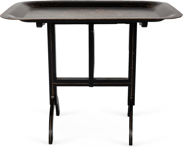 Antique Folding Tray Table