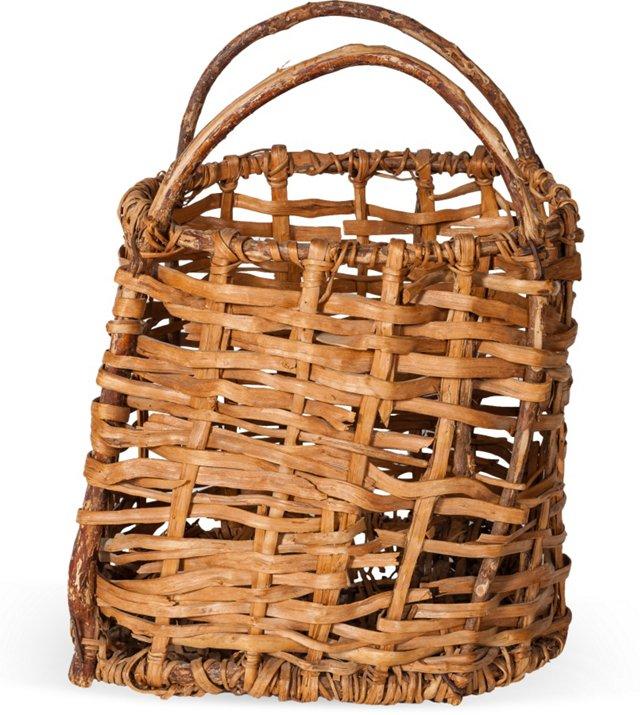 Vintage Reed Basket II