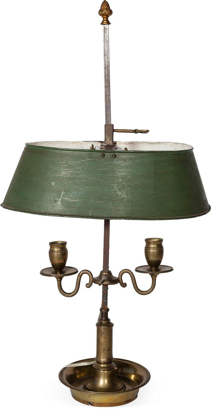 Antique Bouillotte Lamp II