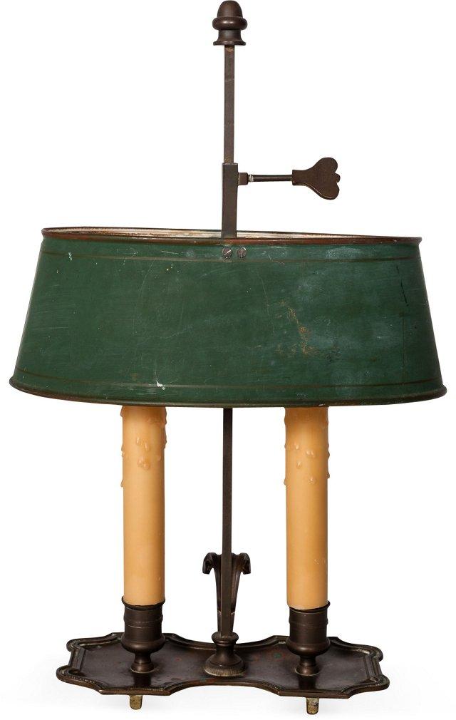Antique Bouillotte Lamp V